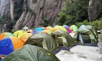 大三清酒店帐篷120元双人帐/平时价格,提供睡袋帐篷防潮垫炒菜,经济舒适,安全!