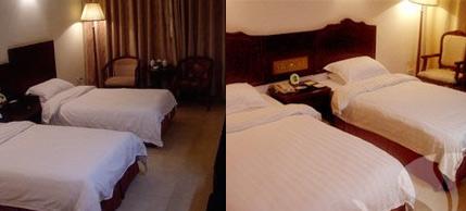 山上酒店:天门山庄,480元/三人间或单间/非周末,挂三星级酒店,24小时热水,条件好。