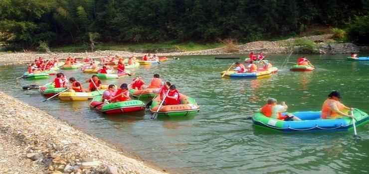 三清山金沙谷漂流,80元/人,超优惠,体验三清山漂流的乐趣。
